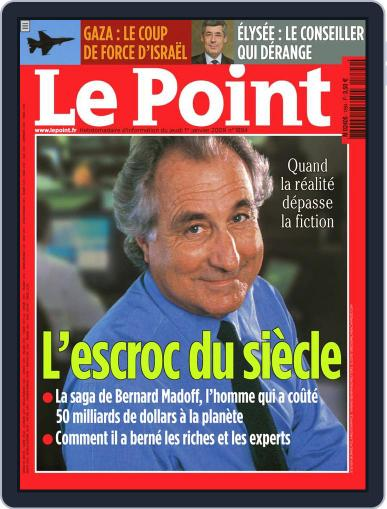 Le Point (Digital) December 31st, 2008 Issue Cover