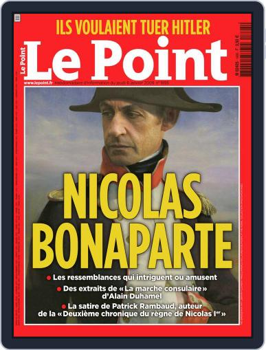 Le Point January 7th, 2009 Digital Back Issue Cover