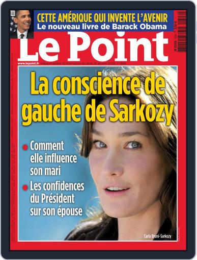 Le Point January 15th, 2009 Digital Back Issue Cover