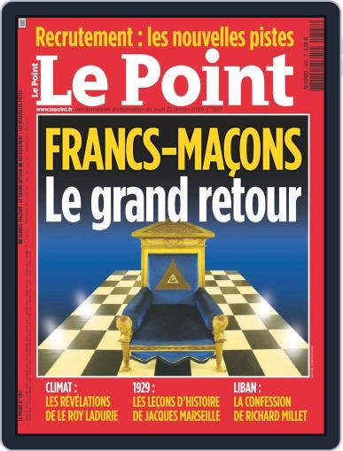 Le Point January 21st, 2009 Digital Back Issue Cover