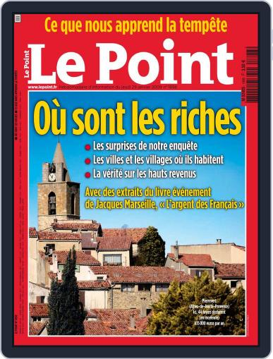 Le Point January 28th, 2009 Digital Back Issue Cover