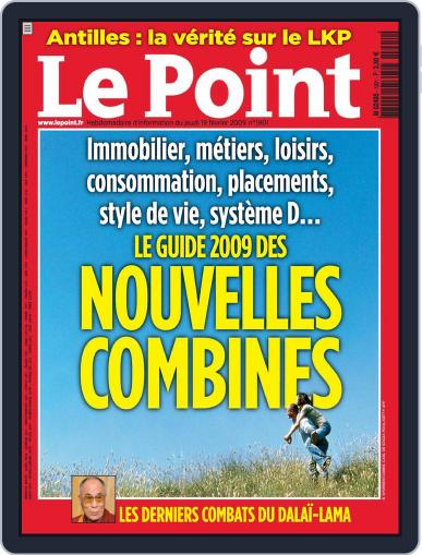 Le Point February 18th, 2009 Digital Back Issue Cover