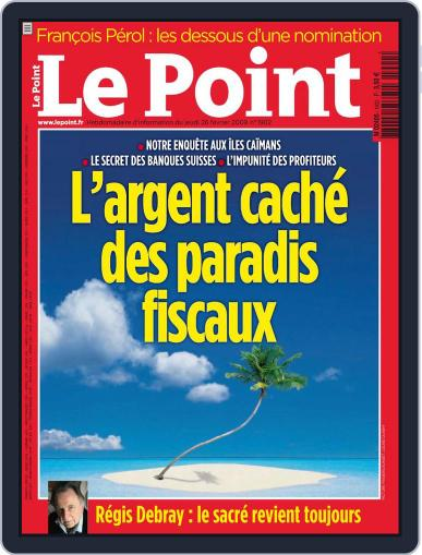 Le Point February 25th, 2009 Digital Back Issue Cover
