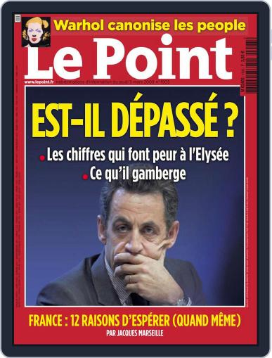 Le Point (Digital) March 4th, 2009 Issue Cover