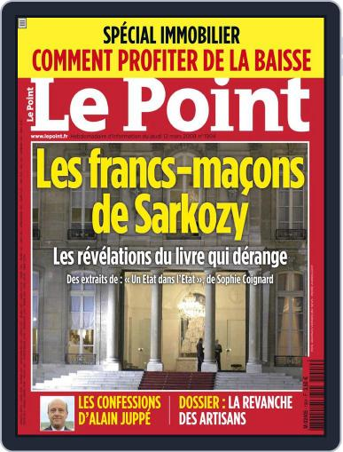 Le Point (Digital) March 10th, 2009 Issue Cover