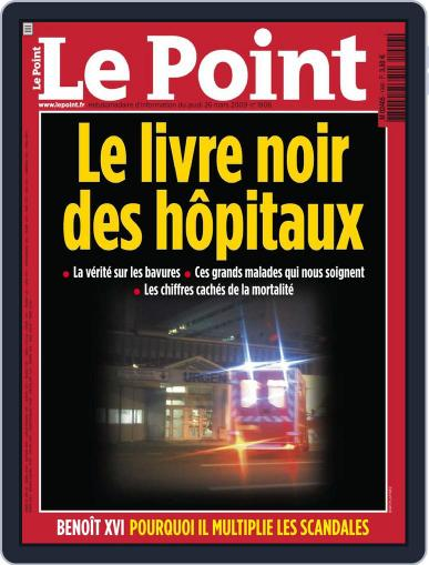 Le Point (Digital) March 25th, 2009 Issue Cover