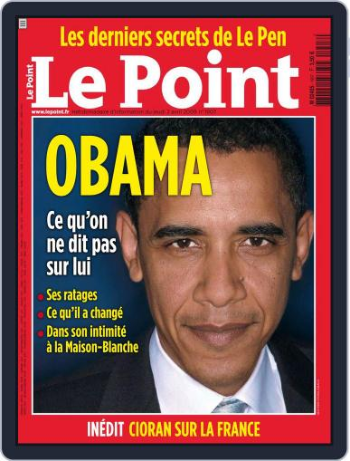 Le Point (Digital) April 1st, 2009 Issue Cover