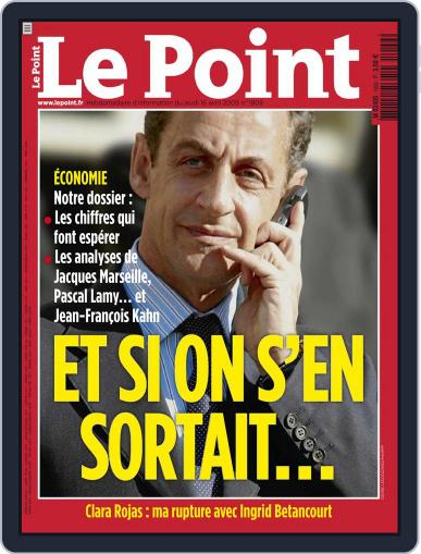 Le Point (Digital) April 16th, 2009 Issue Cover