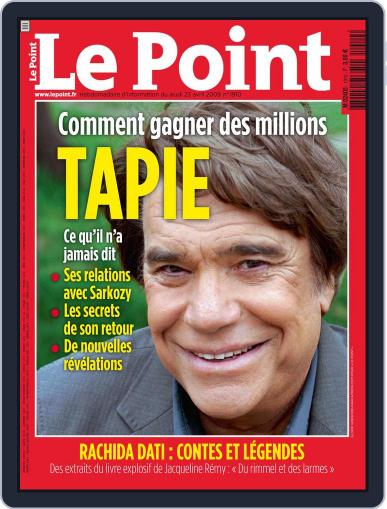 Le Point April 22nd, 2009 Digital Back Issue Cover