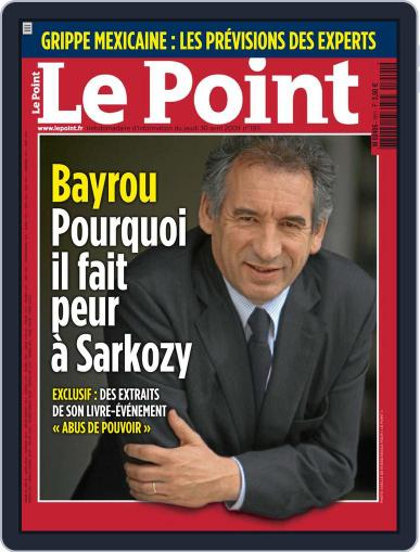 Le Point May 5th, 2009 Digital Back Issue Cover