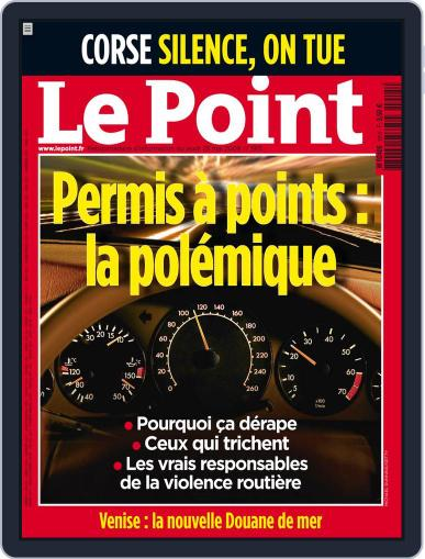 Le Point May 27th, 2009 Digital Back Issue Cover