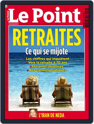Le Point June 24th, 2009 Digital Back Issue Cover