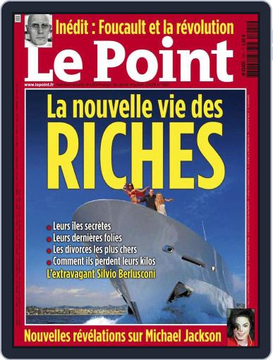 Le Point July 8th, 2009 Digital Back Issue Cover