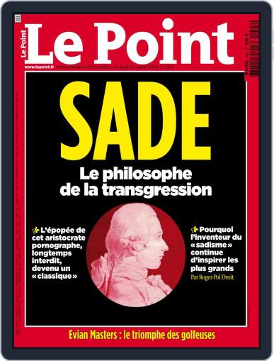 Le Point July 22nd, 2009 Digital Back Issue Cover