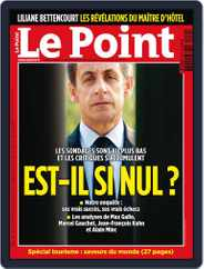 Le Point (Digital) Subscription June 16th, 2010 Issue