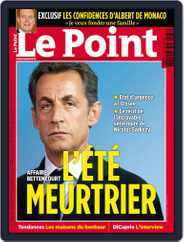 Le Point (Digital) Subscription July 7th, 2010 Issue
