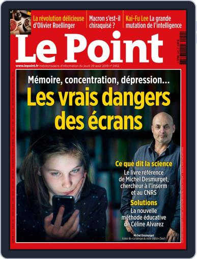 Le Point August 29th, 2019 Digital Back Issue Cover