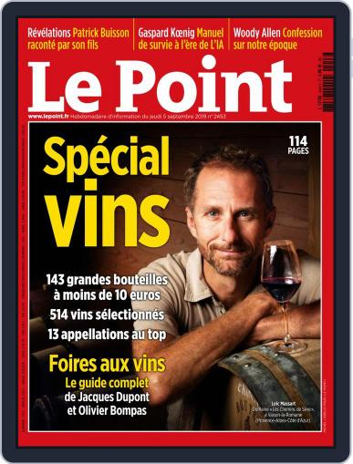Le Point September 5th, 2019 Digital Back Issue Cover