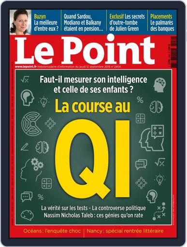 Le Point September 12th, 2019 Digital Back Issue Cover