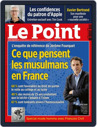Le Point September 19th, 2019 Digital Back Issue Cover
