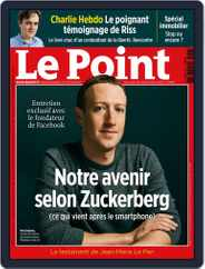 Le Point (Digital) Subscription September 26th, 2019 Issue