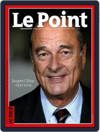 Le Point September 27th, 2019 Digital Back Issue Cover