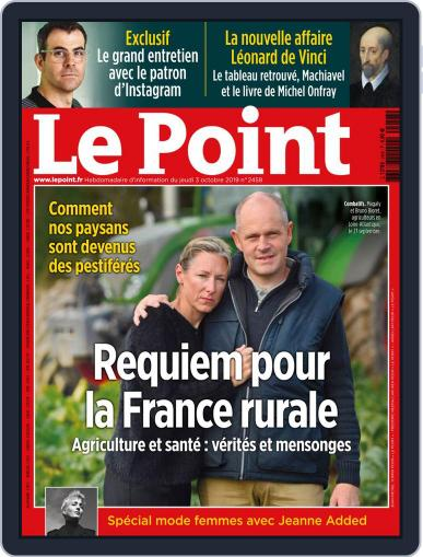 Le Point October 3rd, 2019 Digital Back Issue Cover