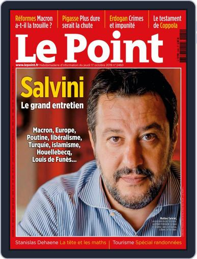 Le Point October 17th, 2019 Digital Back Issue Cover