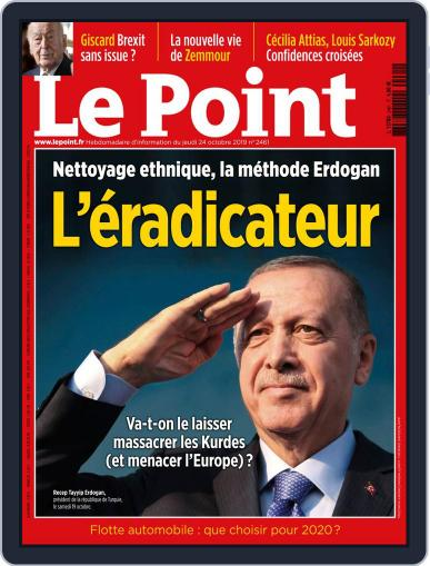 Le Point October 24th, 2019 Digital Back Issue Cover