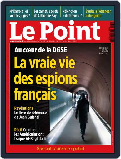 Le Point October 31st, 2019 Digital Back Issue Cover