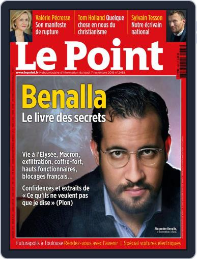 Le Point November 7th, 2019 Digital Back Issue Cover