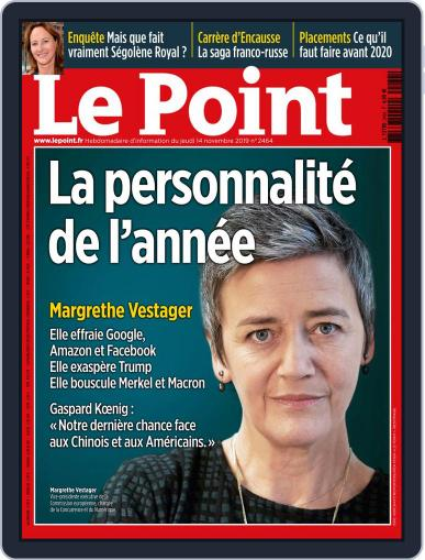 Le Point November 14th, 2019 Digital Back Issue Cover