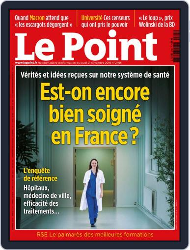 Le Point November 21st, 2019 Digital Back Issue Cover