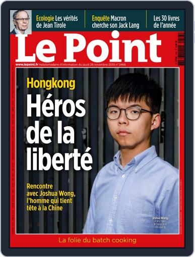 Le Point November 28th, 2019 Digital Back Issue Cover