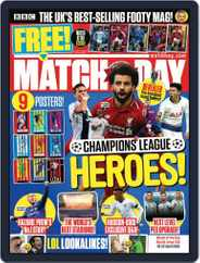 Match Of The Day (Digital) Subscription April 16th, 2019 Issue