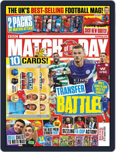 Match Of The Day (Digital) January 21st, 2020 Issue Cover