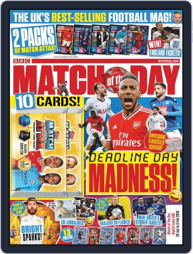 Match Of The Day (Digital) January 28th, 2020 Issue Cover