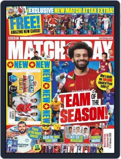 Match Of The Day (Digital) February 11th, 2020 Issue Cover