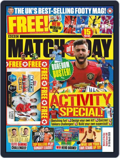 Match Of The Day (Digital) March 24th, 2020 Issue Cover