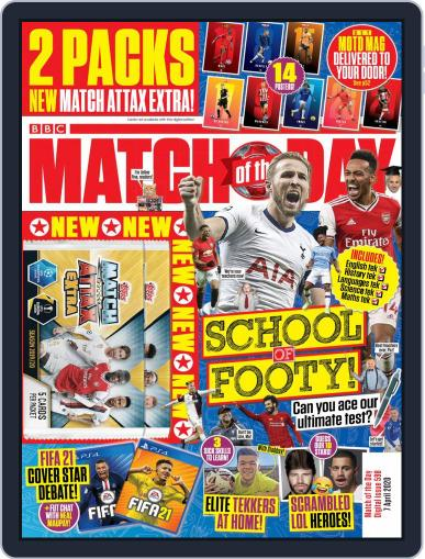 Match Of The Day (Digital) April 7th, 2020 Issue Cover