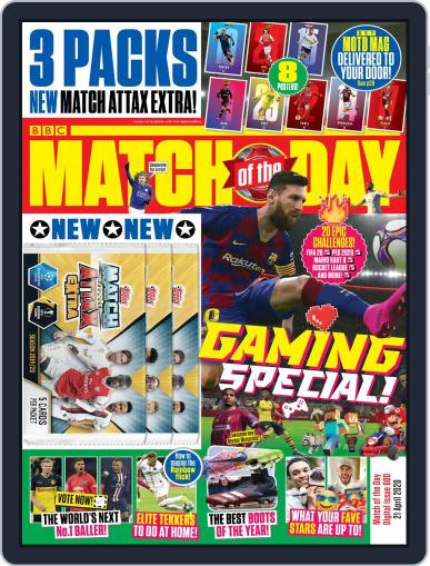 Match Of The Day (Digital) April 21st, 2020 Issue Cover