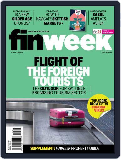 Finweek - English March 19th, 2020 Digital Back Issue Cover