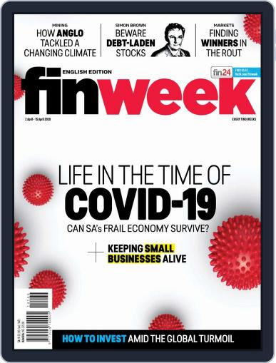 Finweek - English April 2nd, 2020 Digital Back Issue Cover
