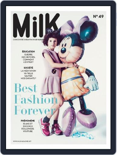 Milk August 1st, 2015 Digital Back Issue Cover