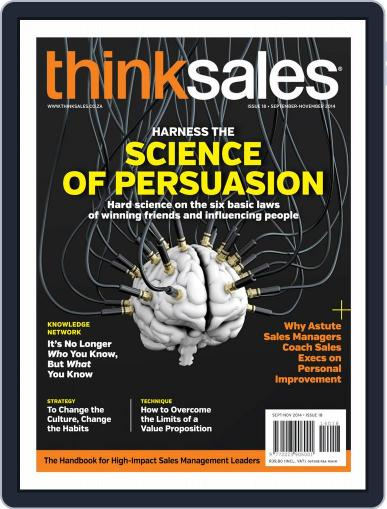 ThinkSales (Digital) September 21st, 2014 Issue Cover