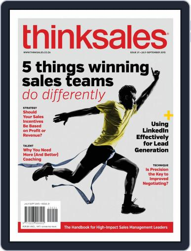 ThinkSales (Digital) July 1st, 2015 Issue Cover