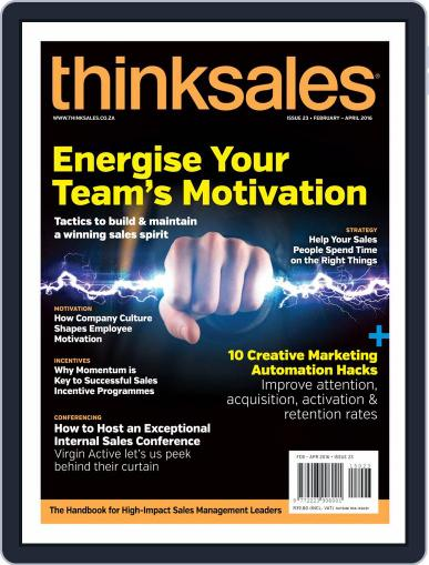 ThinkSales (Digital) March 2nd, 2016 Issue Cover