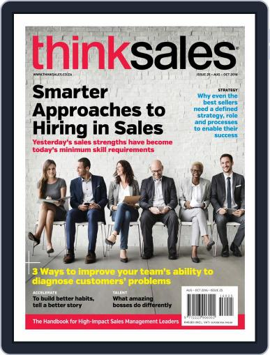 ThinkSales (Digital) August 1st, 2016 Issue Cover
