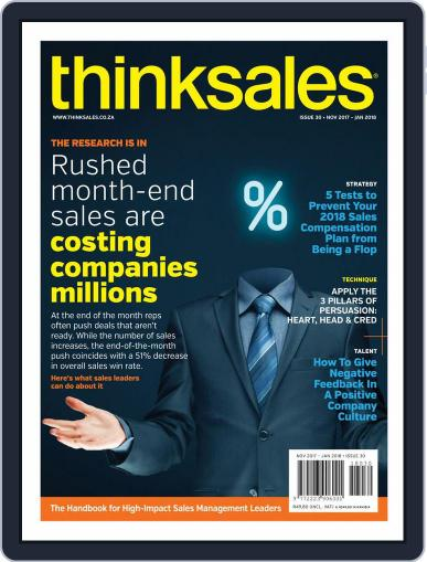 ThinkSales (Digital) November 1st, 2017 Issue Cover