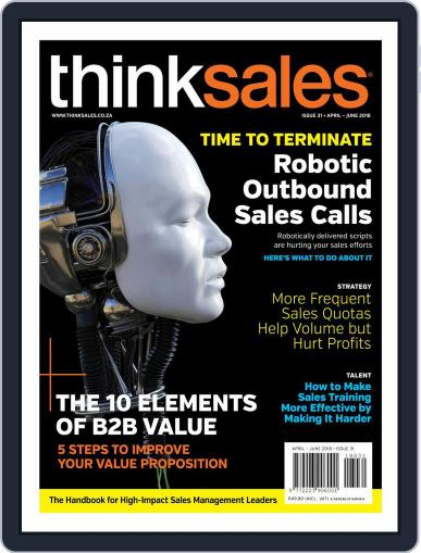 ThinkSales (Digital) April 1st, 2018 Issue Cover